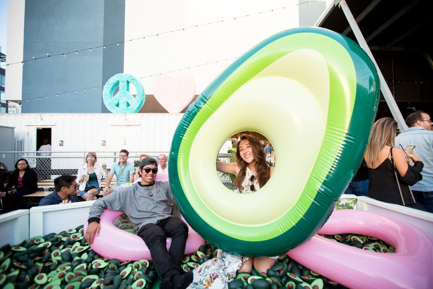 Avolution Fest at Quartyard celebrated all things avocado including art installations, live entertainment and plenty of mushy green treats for gustatory enjoyment on June 9, 2018.