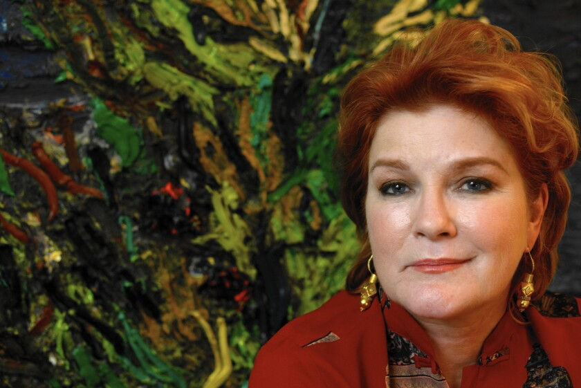 Actress- author Kate Mulgrew at her home in Manhattan, NY.