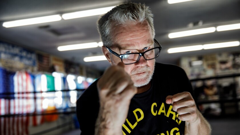 LOS ANGELES, CALIF. -- THURSDAY, JUNE 28, 2018: Freddie Roach poses for a portrait at the Wild Card