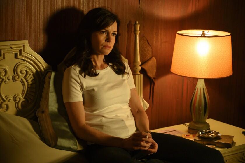 "Carla Gugino in ""Jett"" on Cinemax."