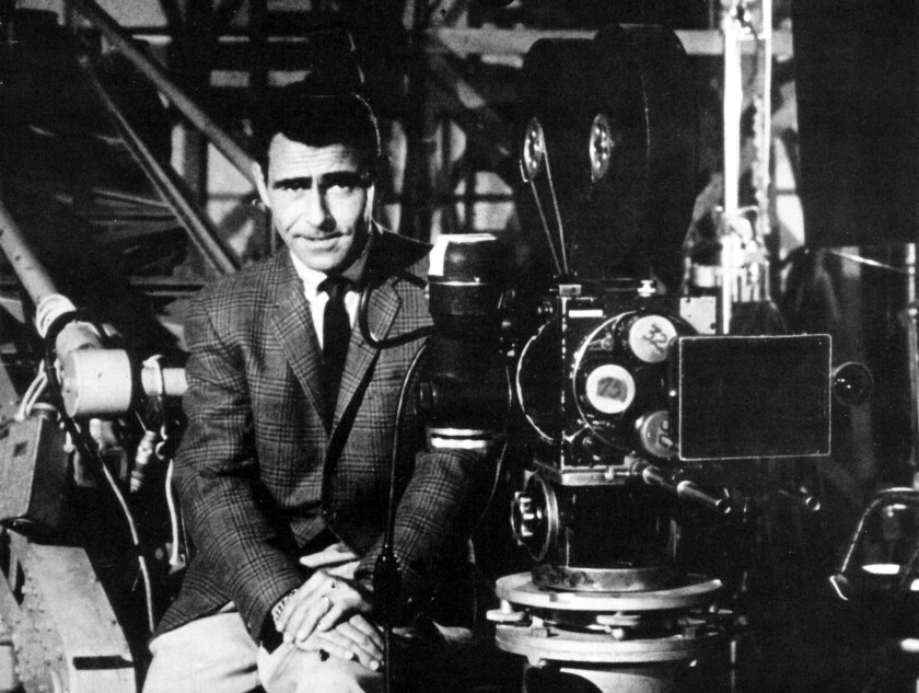 """Creater of """"The Twilight Zone"""" Rod Serling."""