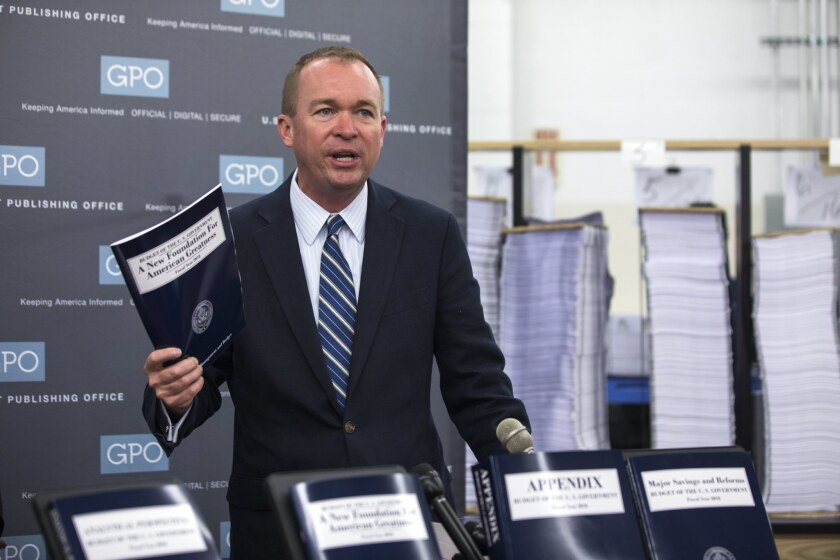 Office of Management and Budget Director Mick Mulvaney on Tuesday lashed out at critics who said President Trump's budget showed a lack of compassion.