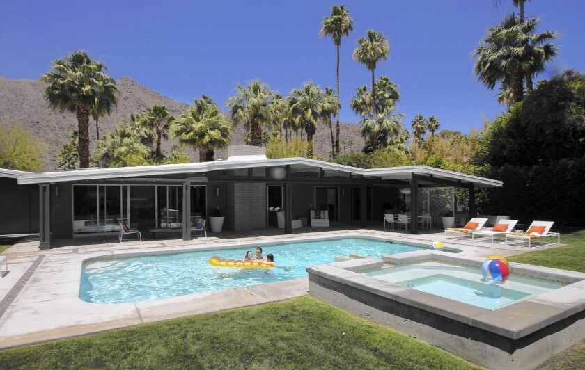Hoyt house in Palm Springs