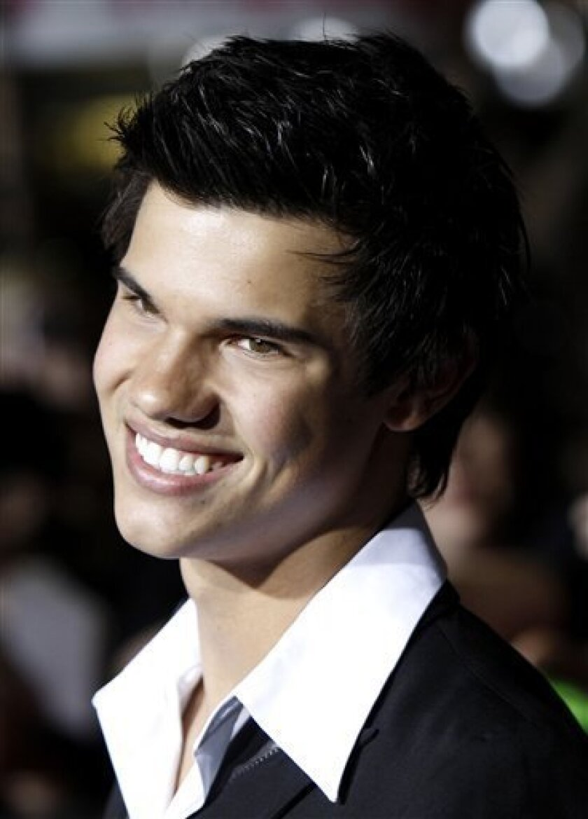 Lautner Back As Jacob Black In Twilight Sequel The San Diego