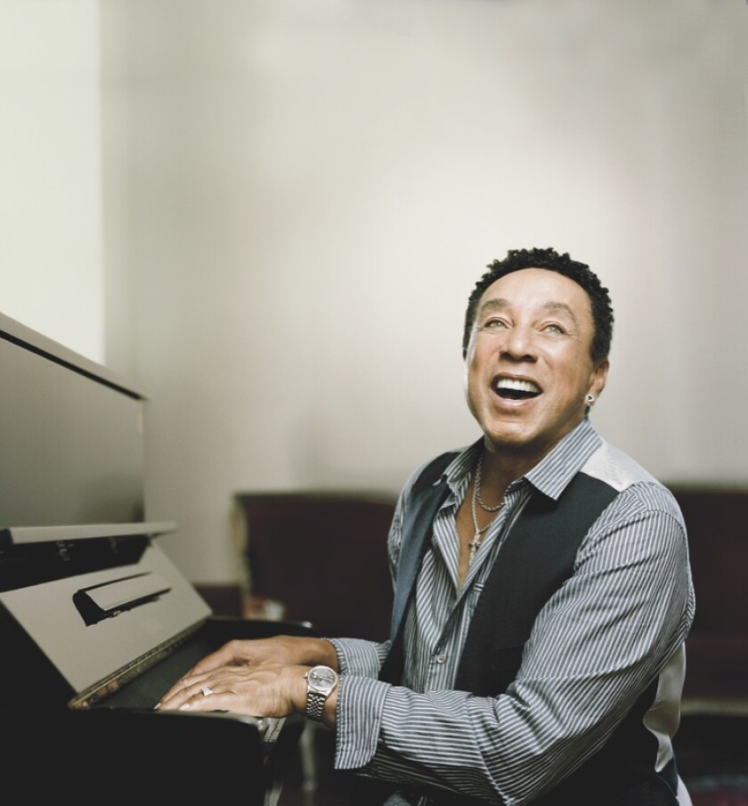 Motown music legend Smokey Robinson will perform at the San Diego County Fair's Grandstand Stage on June 15.