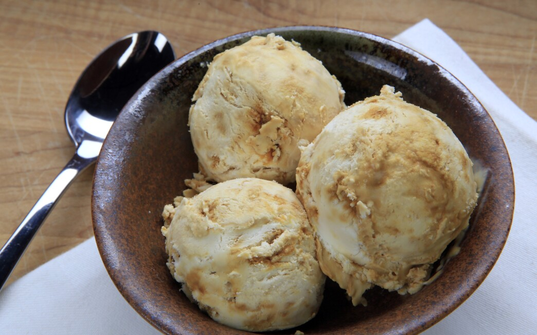 Rustic Canyon's honeycomb ice cream