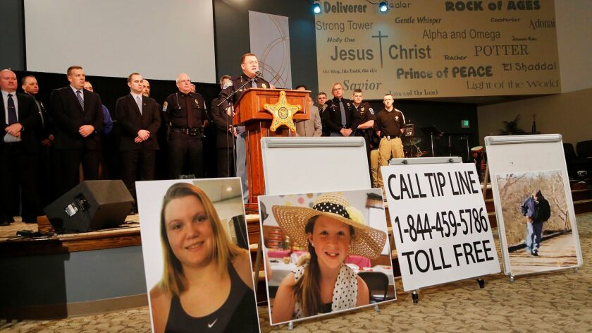 Indiana State Police Capt. David Bursten on Wednesday provides the latest details in the investigation into the slayings of teenagers Liberty German and Abigail Williams.