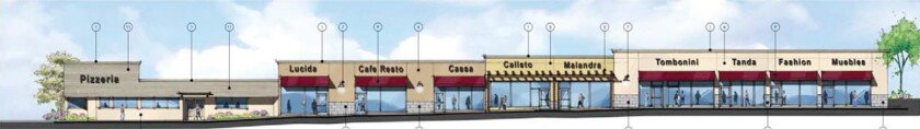 Renovations for Foothill Boulevard strip mall