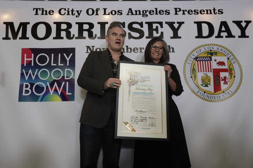 Morrissey and Councilwoman Monica Rodriguez