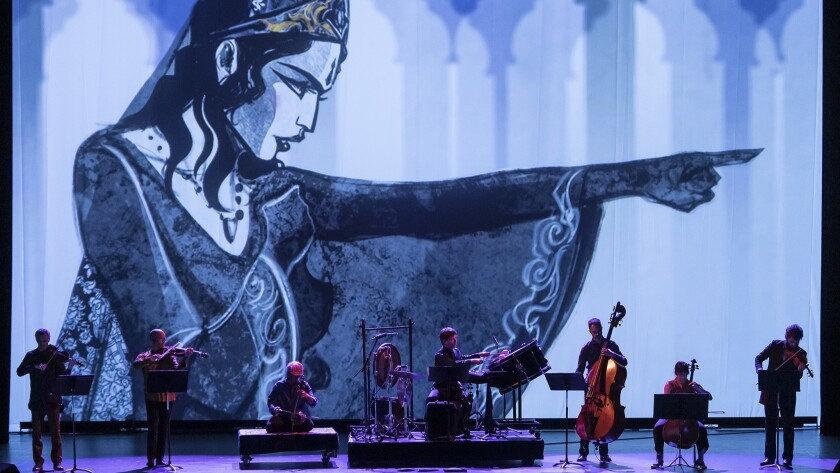 "UCSB Arts & Lectures - Silk Road Ensemble: ""Heroes Take Their Stands"" 4/26/19 The Granada Theatre"