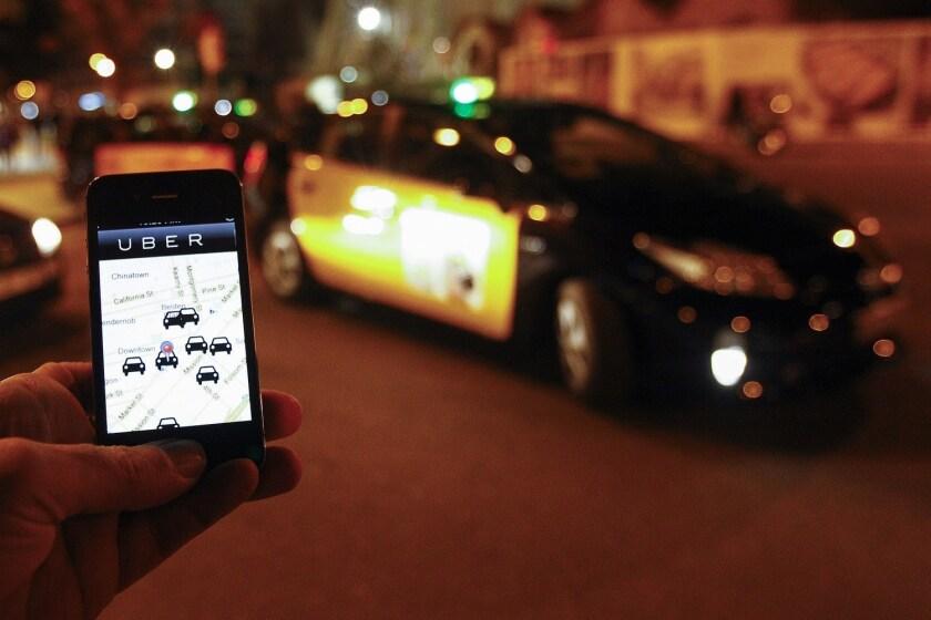 Uber drunk-driving crashes