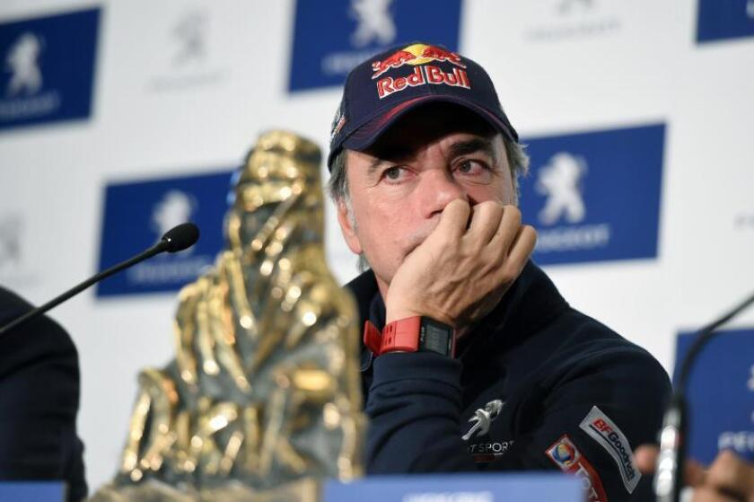 El piloto Carlos Sainz, ganador del Dakar en autos. EFE/Archivo