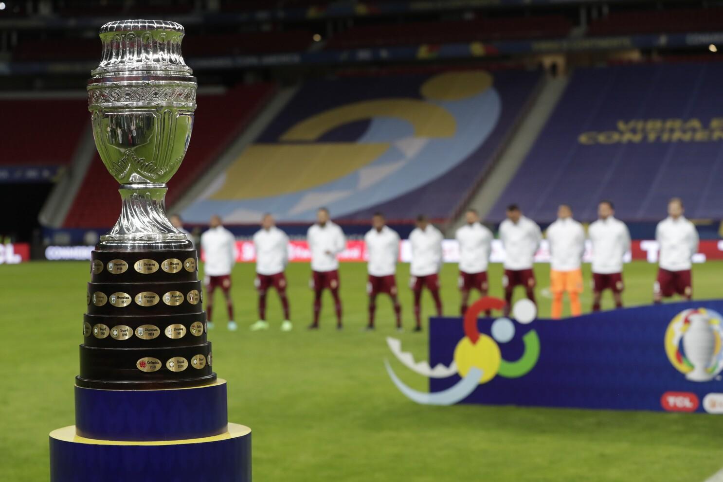 41 casos de COVID-19 vinculados a Copa América - Los Angeles Times
