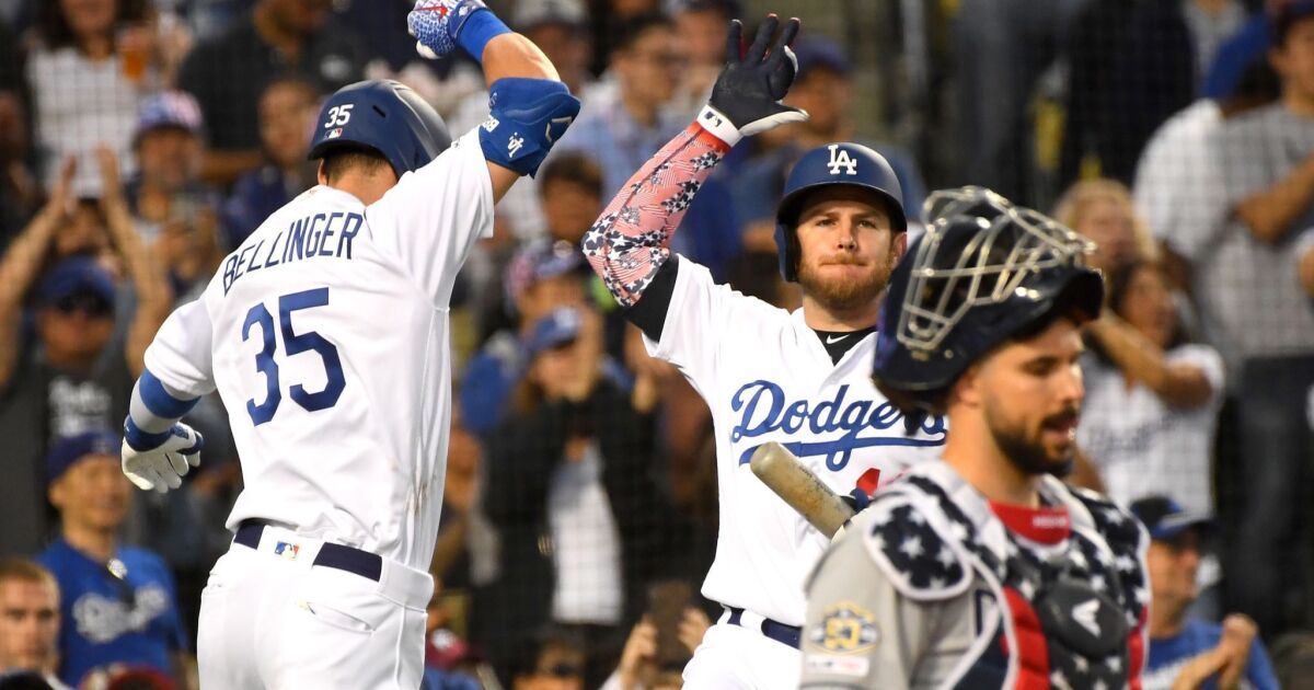 Column: Championship-caliber Dodgers team keeps showing it is the real deal