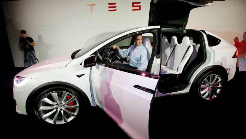 A faulty parking brake could strand certain Tesla vehicles, including the Model X.