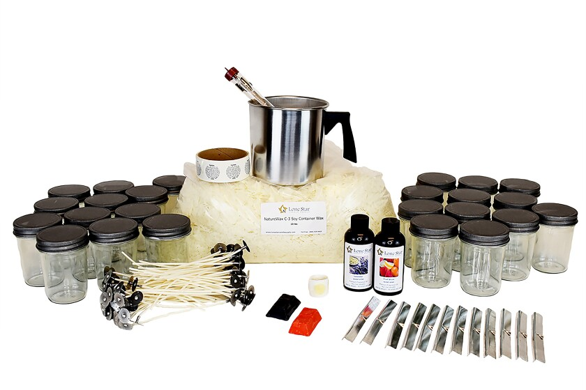 Candle-making kit