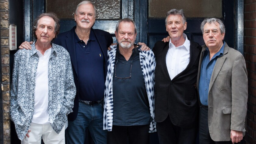 Terry Jones and the other members of Monty Python