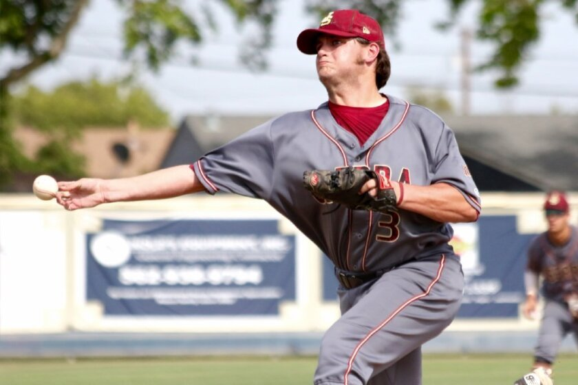 A national rule change will require the CIF to revise its restriction policy next season for the number of pitches thrown. Collin Quinn of JSerra was one of the top pitchers this past season.