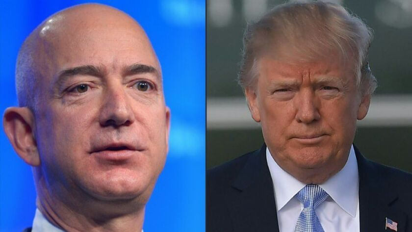 Column: Bezos bets $1 billion on the future of healthcare as Trump tells the same old lies