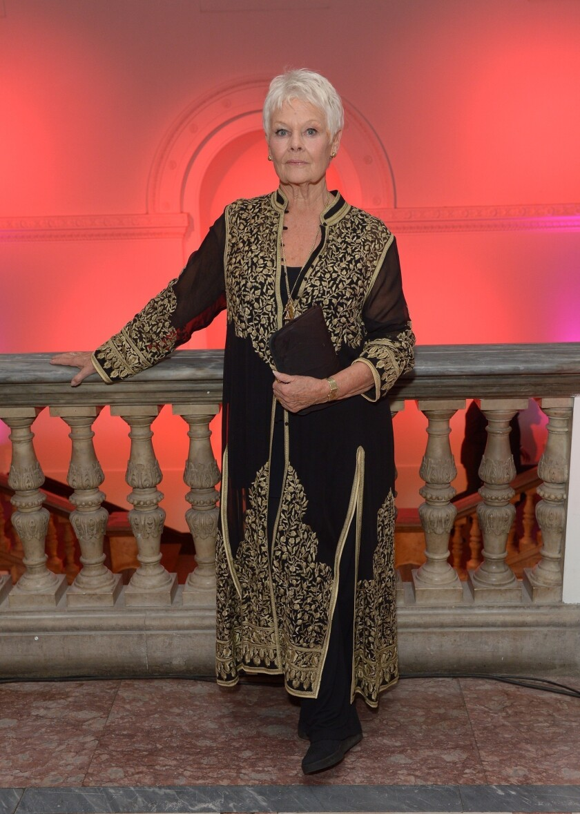 At 78, Judi Dench feels like 'a tall, willowy, blond 43-year-old'