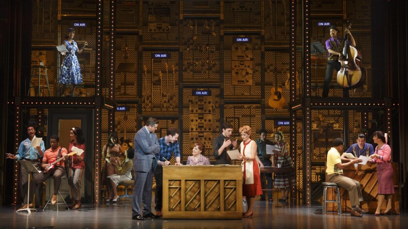 "The company of ""Beautiful — The Carole King Musical."""