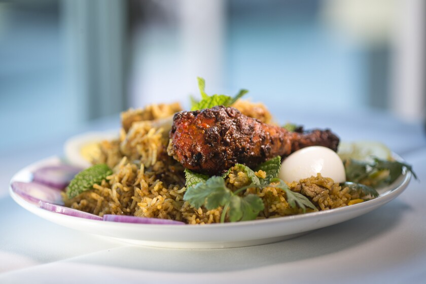 Hungry for biryani? Here are 7 places in the L A  area to