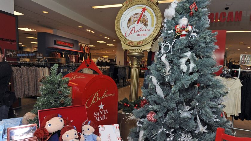 For every letter mailed to Santa at Macy's, the retailer will donate $1 (up to $1 million) to the Ma