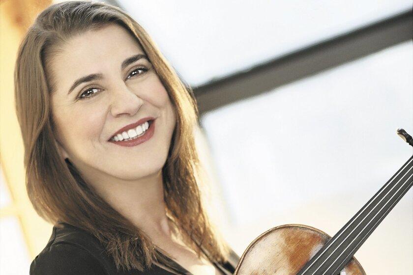 Violinist Nadia Salerno-Sonnenberg