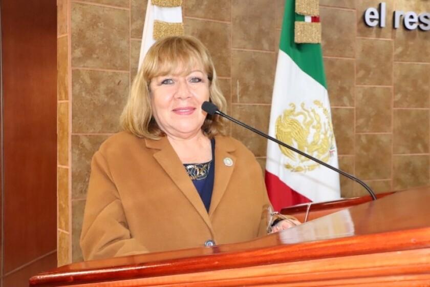La diputada local de Baja California Carmen Leticia Hernández Carmona