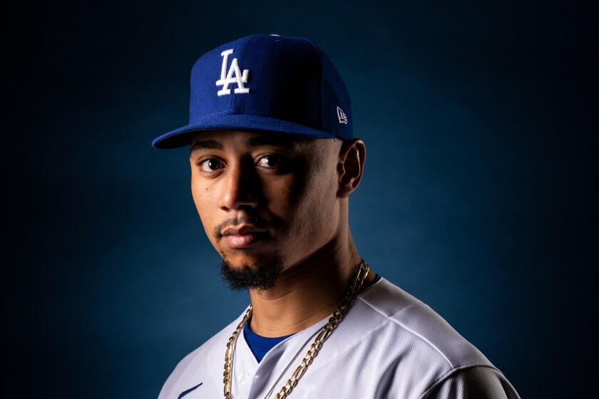 Dodgers outfielder Mookie Betts.