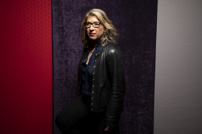 "Director Lauren Greenfield, from the film ""The Kingmaker,"" photographed in the L.A. Times Photo Studio at the Toronto International Film Festival."