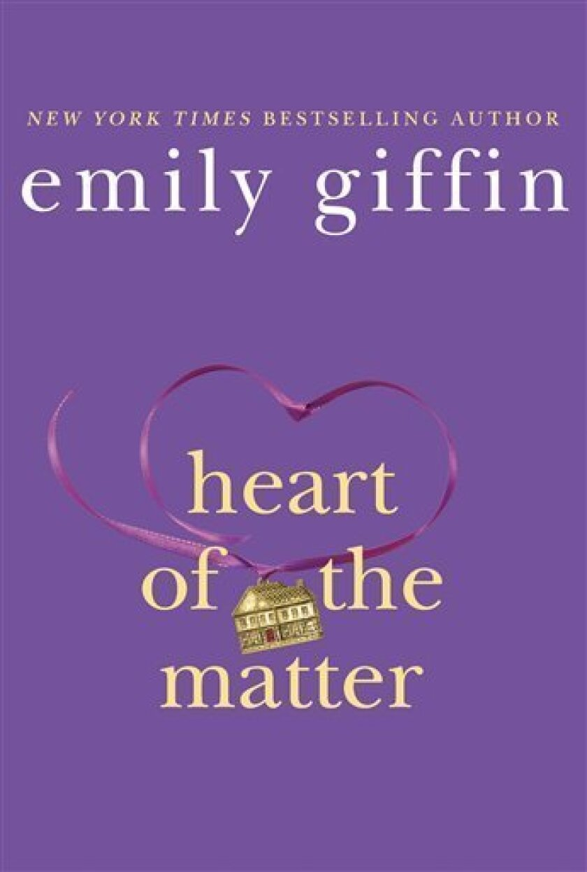 """In this book cover image released by St. Martin's Press, """"Heart of the Matter,"""" by Emily Giffin, is shown. (AP Photo/St. Martin's Press)"""
