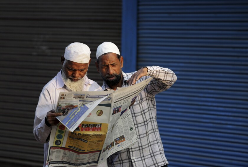 India Muslim Divide