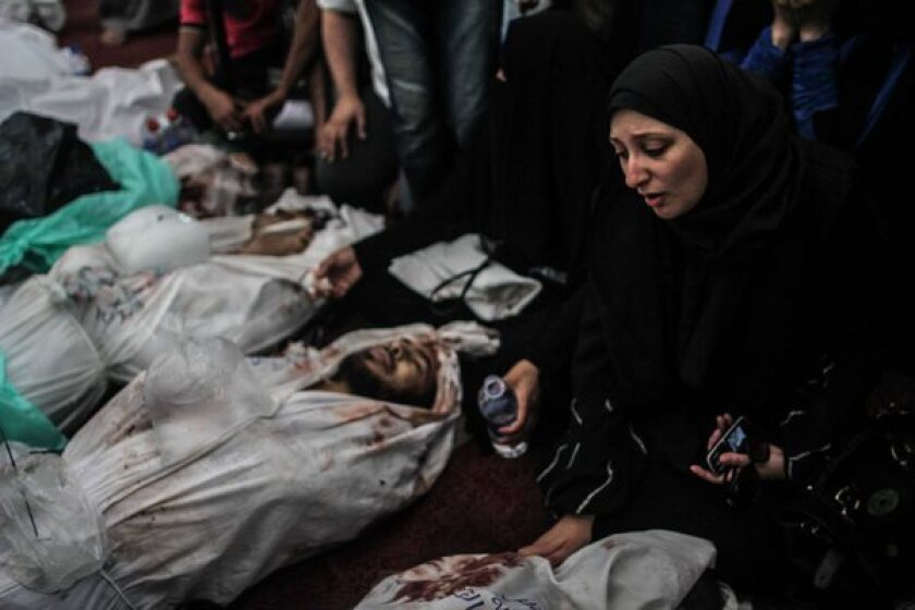 An Egyptian woman mourns a relative who died in a clash ignited when security forces broke up protest camps in Cairo.
