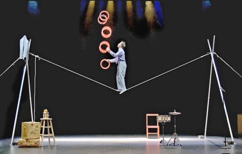 Jamie Adkins of Circus Incognitus.