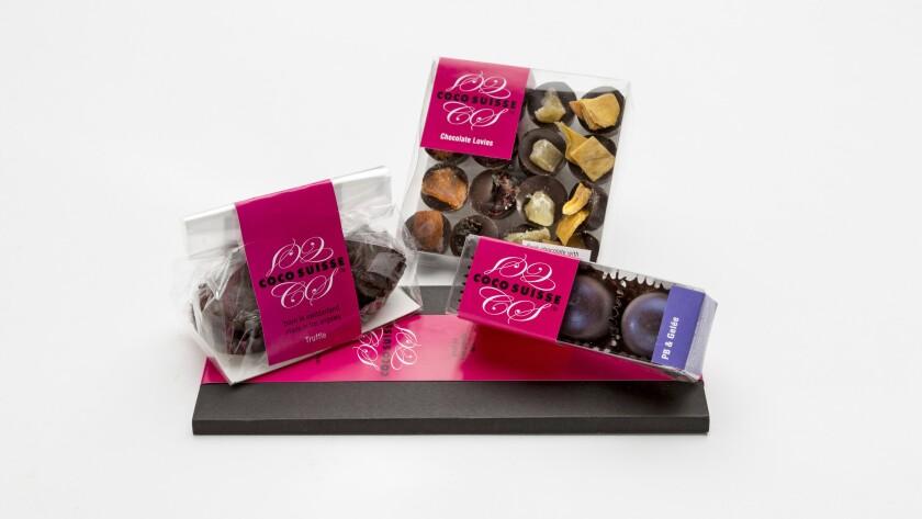 Coco Suisse chocolates.
