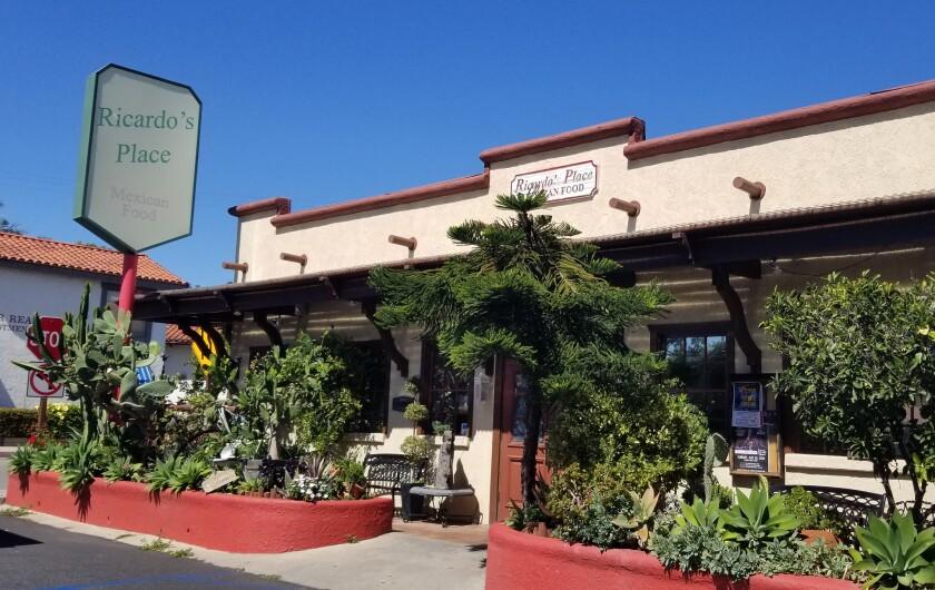Ricardo's Place in San Juan Capistrano