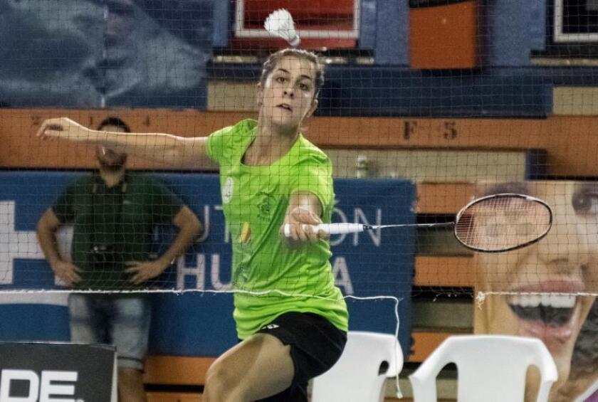 La jugadora Carolina Marín. EFE/Archivo