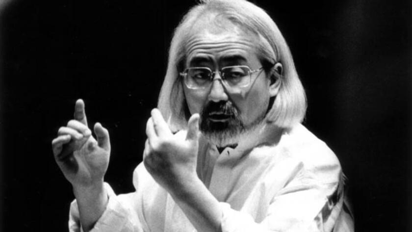Masaaki Suzuki photographed in 2003.