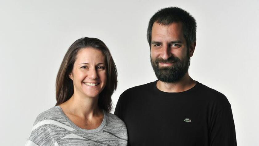 Dara and Srdjan Simic, owners of Studio Simic. (Rick Nocon)