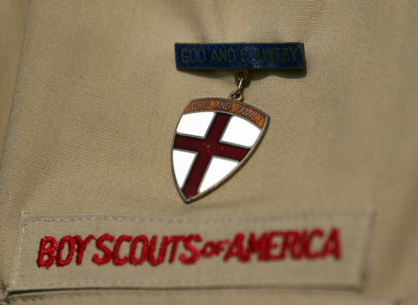 The decision by the Boy Scouts of America to lift a ban on gay scouts -- though not scout leaders -- could lead to an exodus as the Southern Baptist Convention wraps up in Houston on Wednesday.