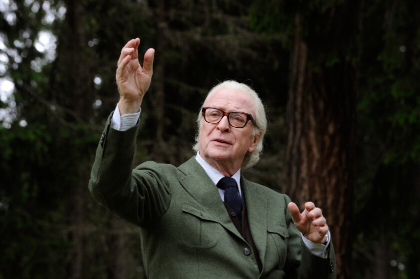 "Michael Caine in the movie ""Youth."""