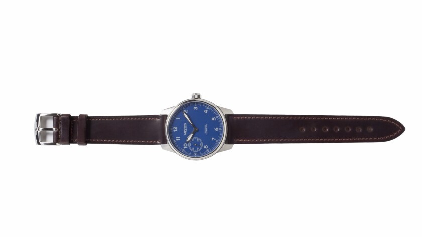 Weiss Watch Co.'s limited-edition American Issue Field Watch, $2,500 at www.weisswatchcompany.com.