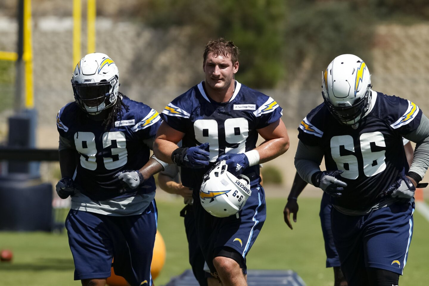 Joey Bosa's first team practice