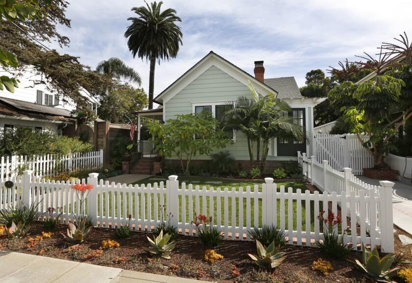 A Coronado home in November 2018.