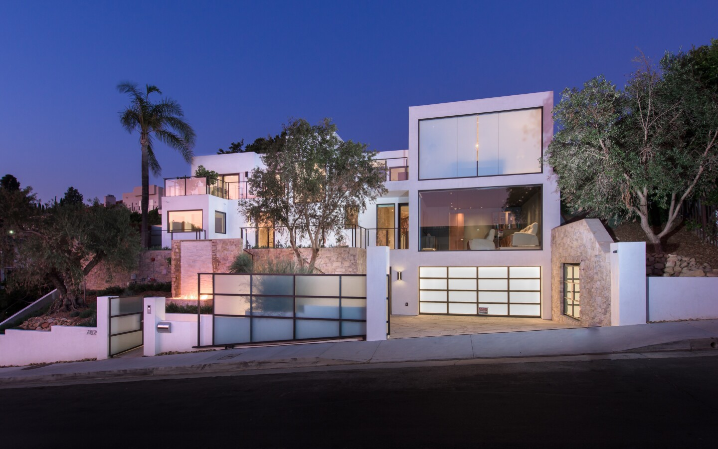 Justin Dearborn's Hollywood Hills home