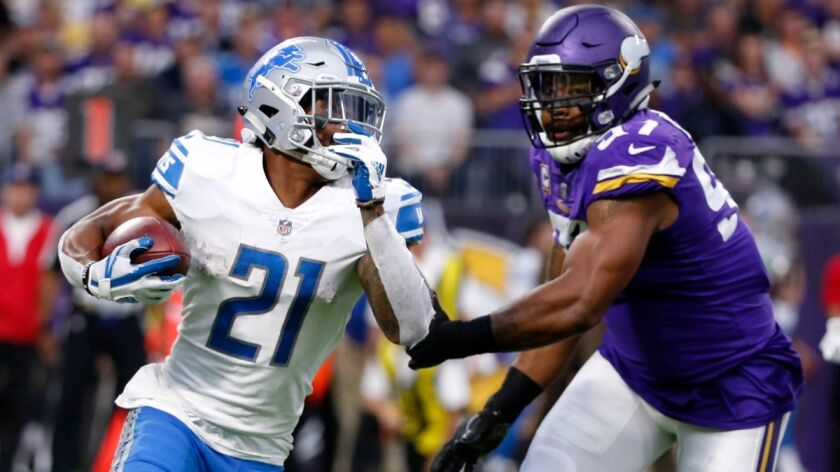 Ameer Abdullah, Everson Griffen