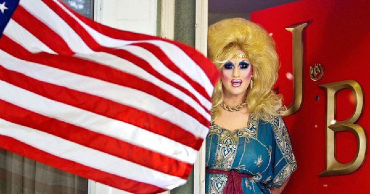 Photos: Drag queen Jackie Beat's Highland Park home - Los