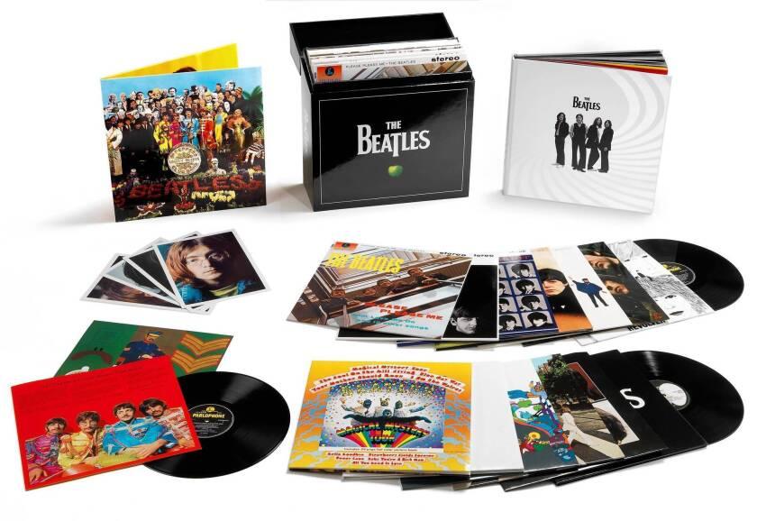 The Beatles box vinyl stereo box set.