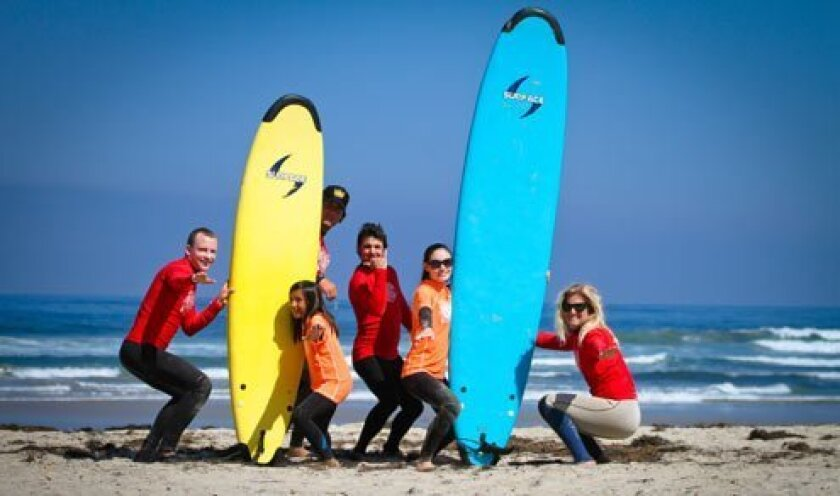 Surf Diva Surf School's staff and campers know it's all about safe fun in the sun. (Courtesy Photo)